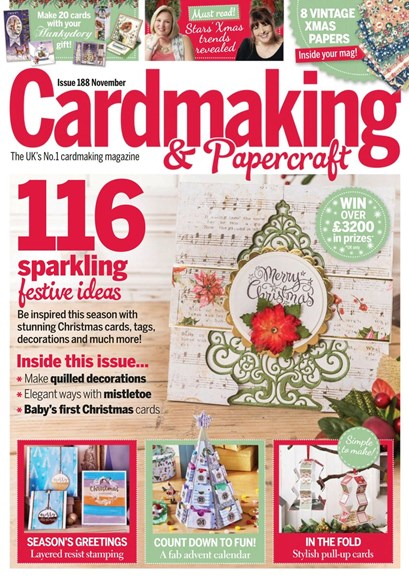 CardMaking & PaperCrafts Cover - 11/1/2018