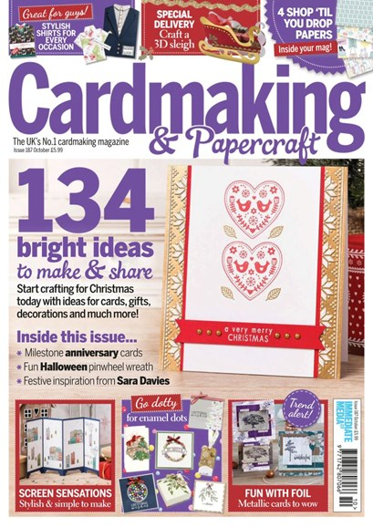 CardMaking & PaperCrafts Cover - 10/1/2018
