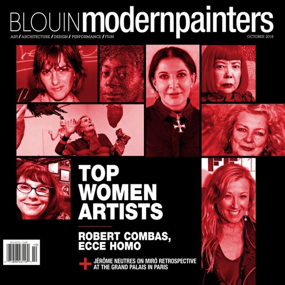Blouin Modern Painters Cover - 10/1/2018