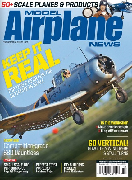 Model Airplane News Cover - 12/1/2018