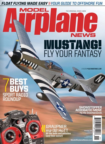 Model Airplane News Cover - 11/1/2018