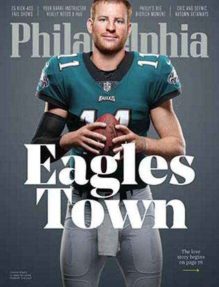 Philadelphia Magazine Cover - 9/1/2018