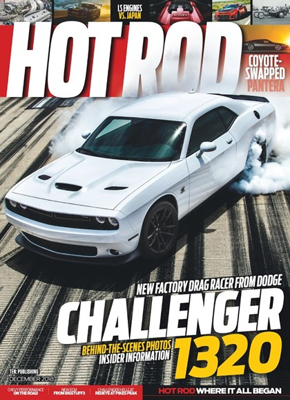 Hot Rod Cover - 12/1/2018