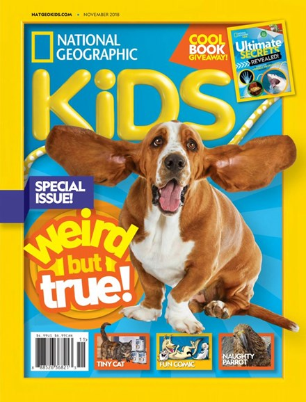 National Geographic Kids Cover - 11/1/2018