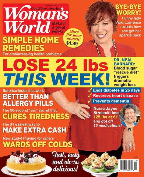 Woman's World Cover - 10/8/2018