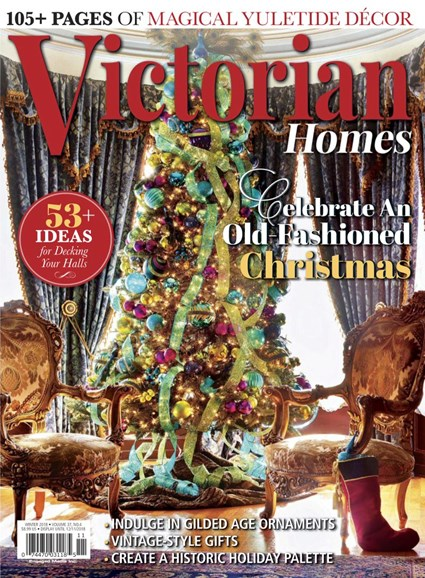 Victorian Homes Cover - 12/1/2018