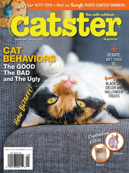 Catster Cover - 9/1/2018