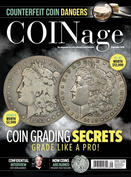 Coinage Cover - 9/1/2018
