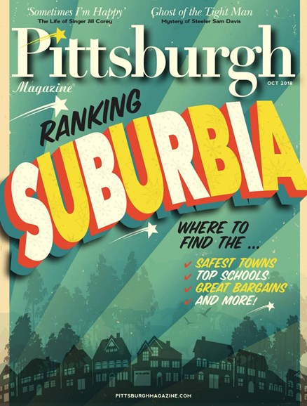 Pittsburgh Magazine Cover - 10/1/2018