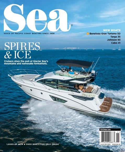 Sea Magazine Cover - 11/1/2018