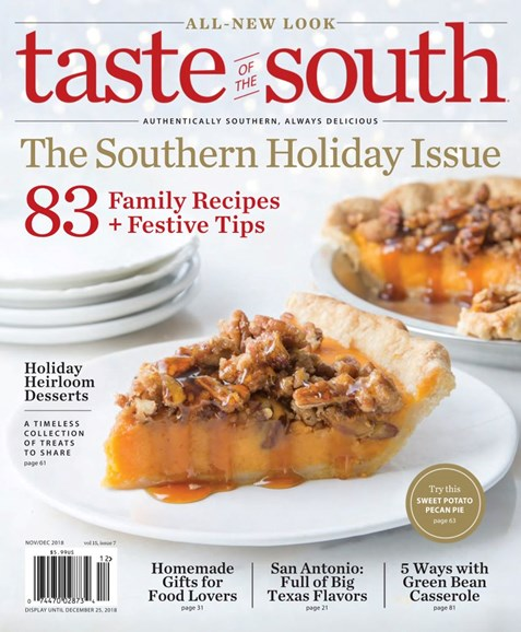 Taste of the South Cover - 11/1/2018