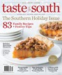 Taste Of The South Magazine | 11/2018 Cover