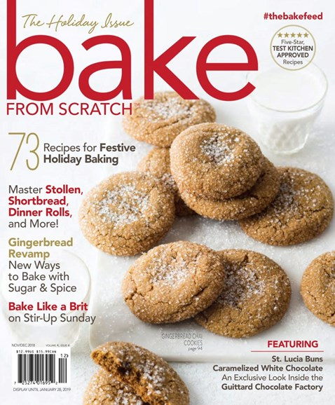 Bake From Scratch Cover - 11/1/2018