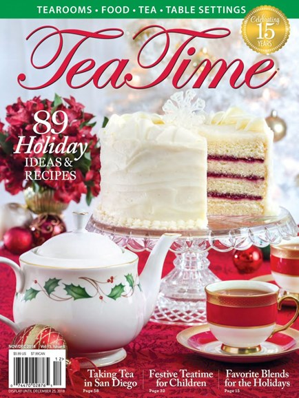 Tea Time Cover - 11/1/2018