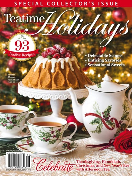Tea Time Cover - 12/1/2018