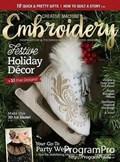 Creative Machine Embroidery | 11/2018 Cover