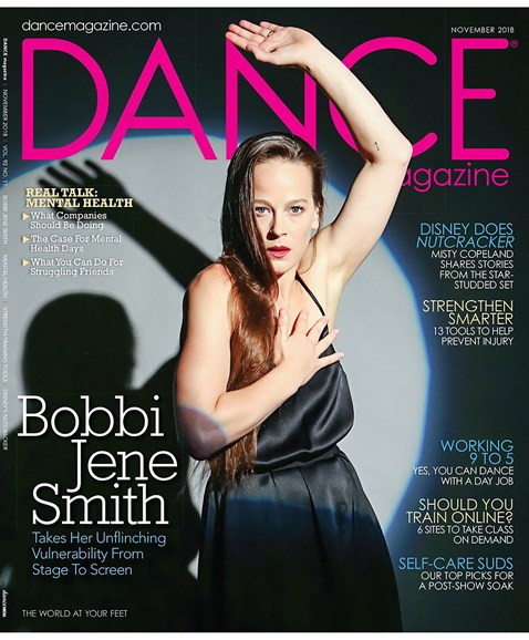 Dance Magazine Cover - 11/1/2018