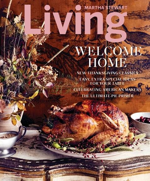 Martha Stewart Living Cover - 11/1/2018