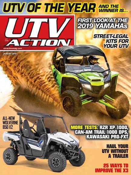 UTV Action Cover - 8/1/2018