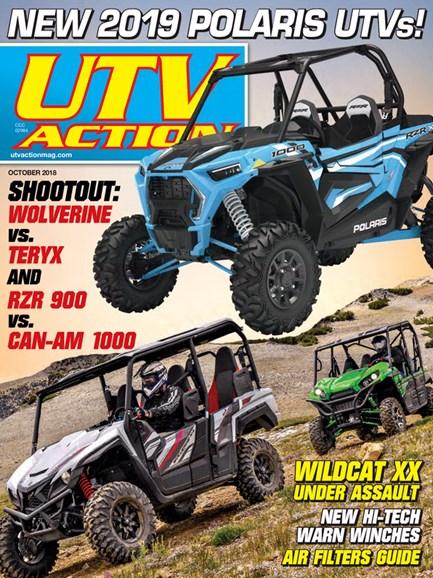 UTV Action Cover - 10/1/2018