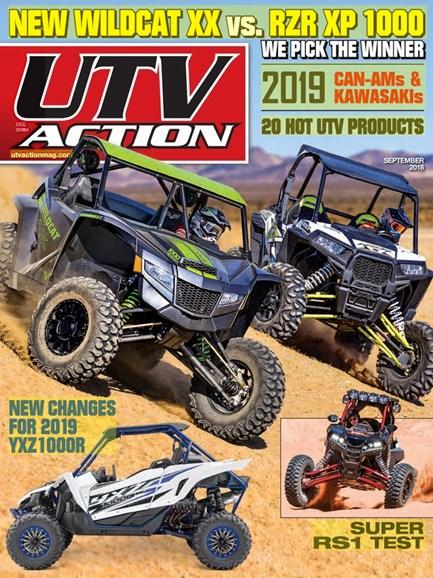 UTV Action Cover - 9/1/2018