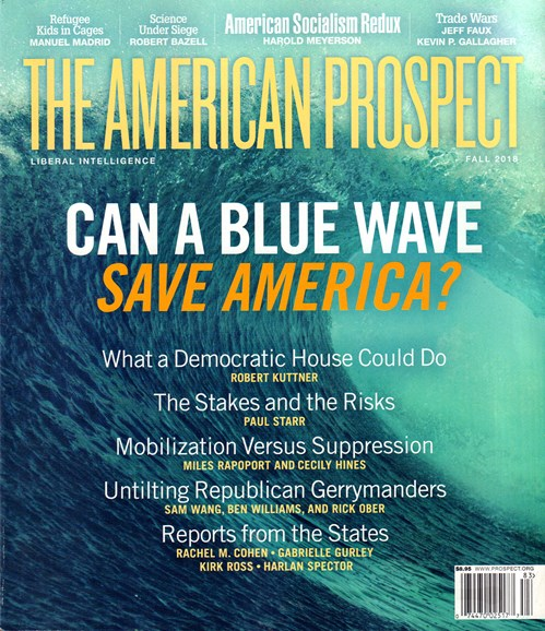 The American Prospect Cover - 10/1/2018