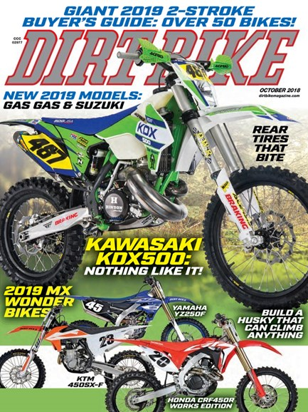 Dirt Bike Cover - 10/1/2018