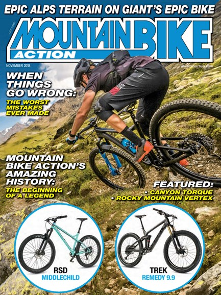 Mountain Bike Action Cover - 11/1/2018