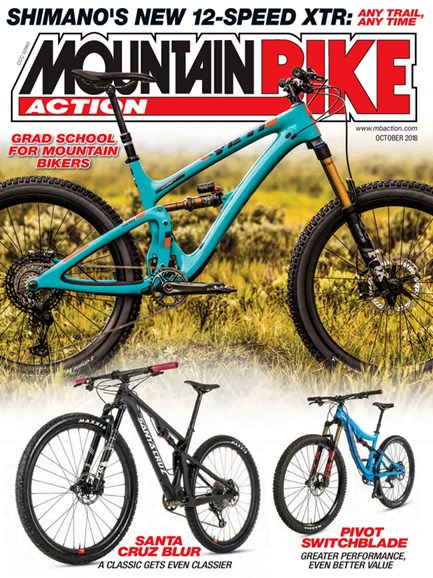 Mountain Bike Action Cover - 10/1/2018