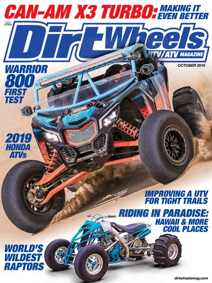 Dirt Wheels Cover - 10/1/2018