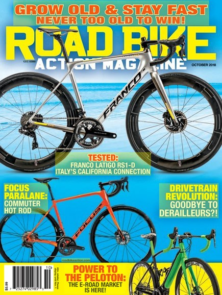 Road Bike Action Cover - 10/1/2018