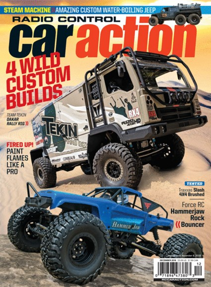 Radio Control Car Action Cover - 12/1/2018