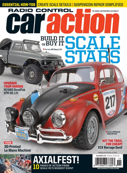 Radio Control Car Action Cover - 11/1/2018