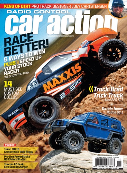 Radio Control Car Action Cover - 10/1/2018