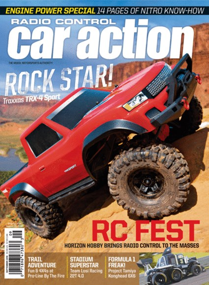 Radio Control Car Action Cover - 9/1/2018
