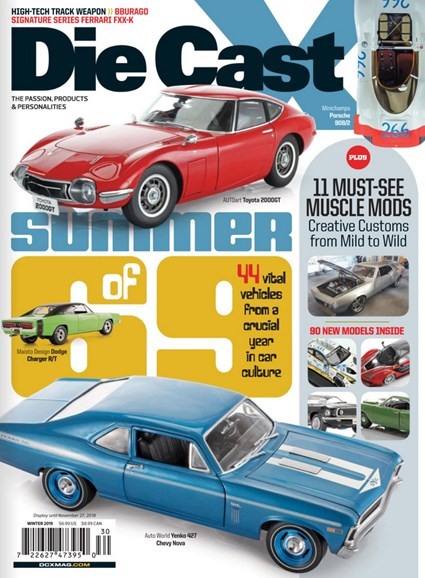 Diecast X Cover - 12/1/2018