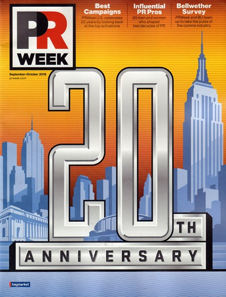 PRWeek Cover - 9/1/2018