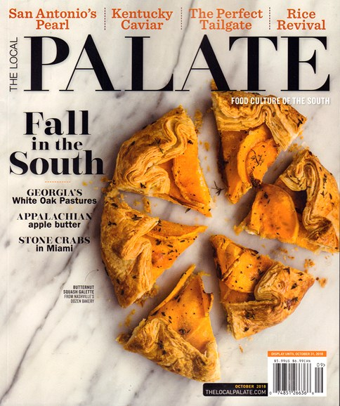 The Local Palate Cover - 10/1/2018