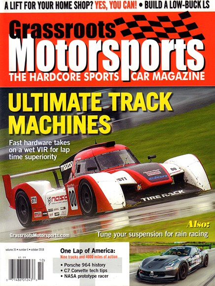 Grassroots Motorsports Cover - 10/1/2018
