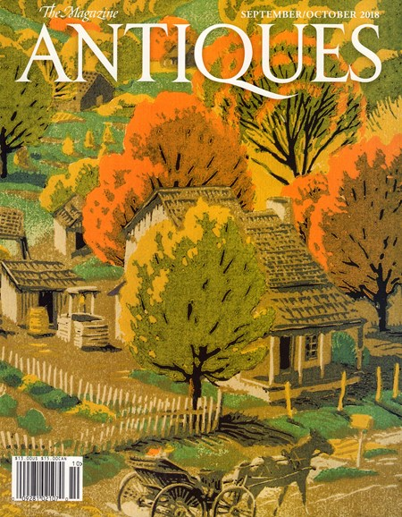 The Magazine Antiques Cover - 9/1/2018