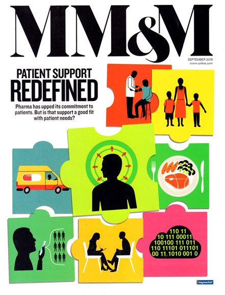 Medical Marketing & Media Cover - 9/1/2018