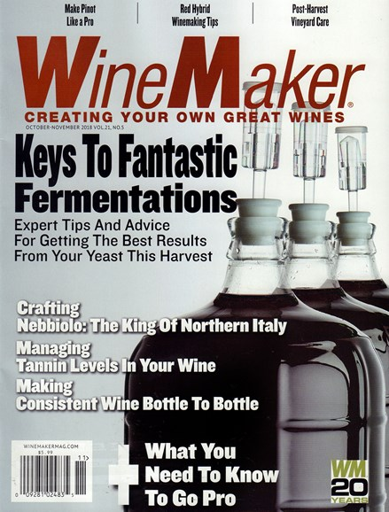 Winemaker Cover - 10/1/2018