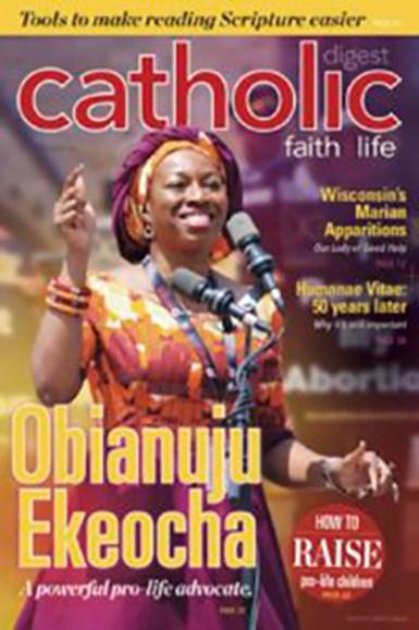 Catholic Digest Cover - 10/1/2018