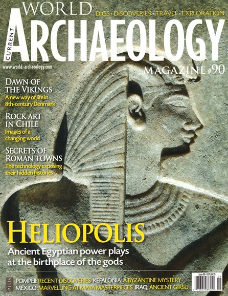 Current World Archaeology Cover - 8/1/2018