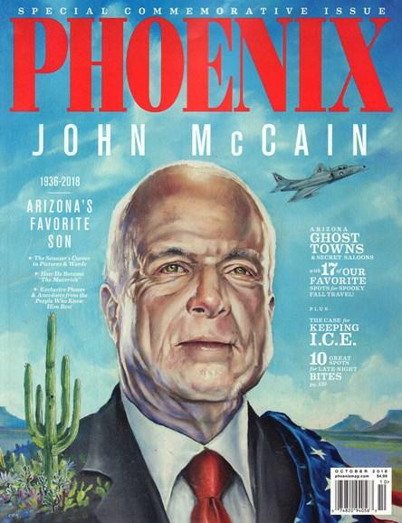 Phoenix Magazine Cover - 10/1/2018