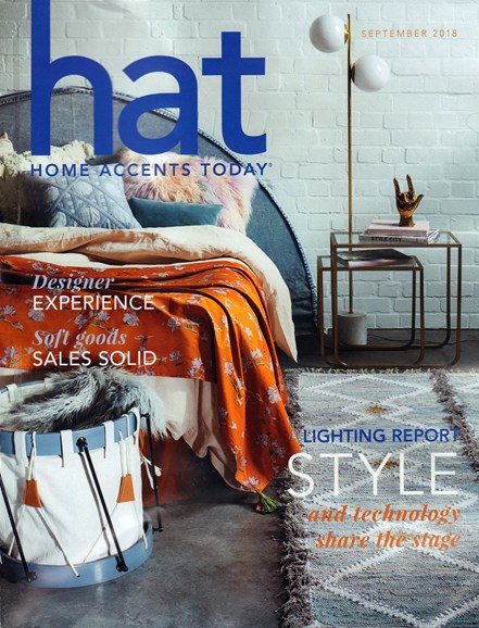 Home Accents Today Cover - 9/1/2018