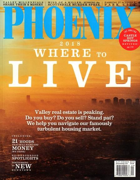 Phoenix Magazine Cover - 9/1/2018