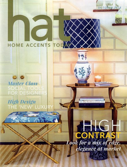 Home Accents Today Cover - 10/1/2018