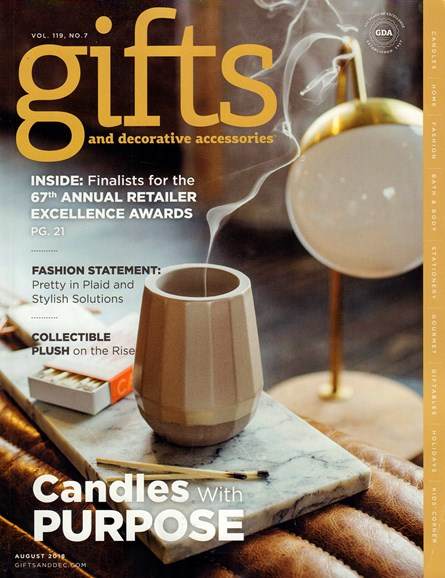 Gifts And Decorative Accessories Cover - 8/1/2018
