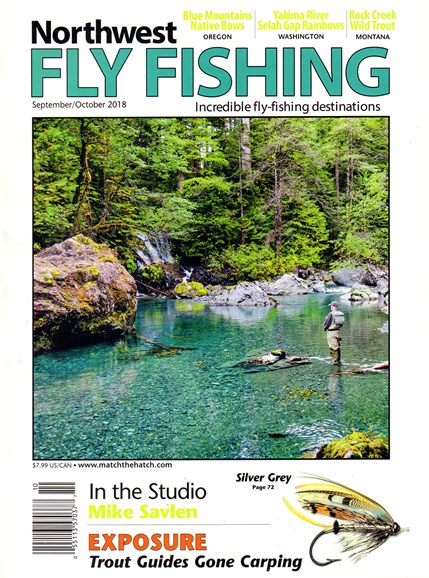 Northwest Fly Fishing Cover - 9/1/2018